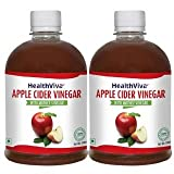 HealthViva Apple Cider Vinegar 500 ML - ...
