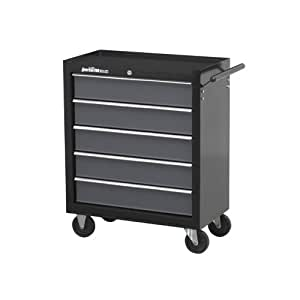 Sealey 5-Drawer Rollcab with Ball Bearing Runners - Black/ Grey