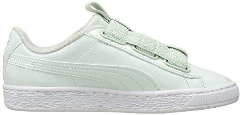 Puma Women s Basket Maze Wn Sneaker  Blue Flower White  6 UK