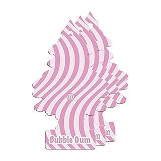Arbre_Magique PER90526 Auto-Lufterfrischer, Bubble Gum Duft, 3er Set Rosa/Weiß Gomma Set of 3