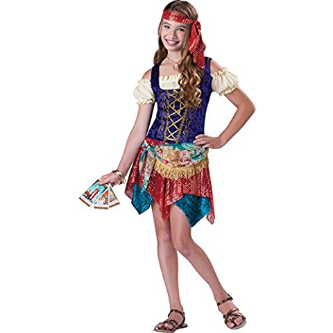 Costumes Gypsy Girl - Tween Teen filles Deluxe Gypsy Fancy Dress