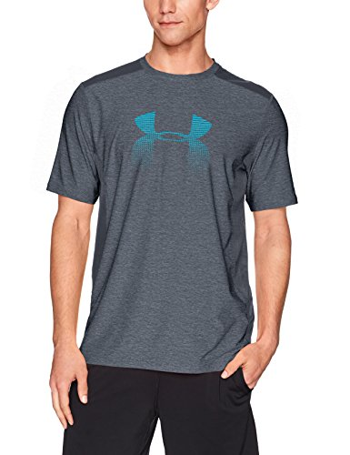 Under Armour Herren Raid Graphic Short Sleeve Shirt Stealth Gray