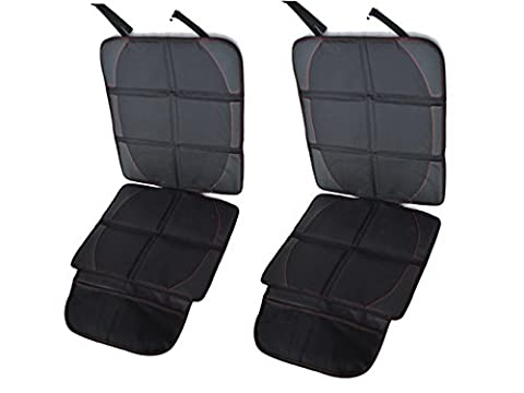 Happyit children's car seat protector and strollers to protect the seats, the best dog car seat cover car mats to protect the decoration in leather or fabric
