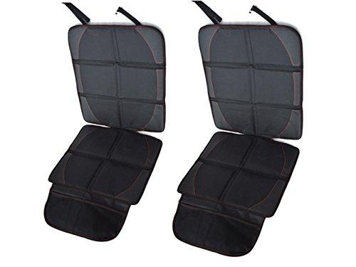 Preisvergleich Produktbild Happyit Autositz-Schutz-bestes Schutz für Kind- u.Baby-Autos-Sitze, Hundesitz-Abdeckungs-Auflage Universalgröße schützt Automobil-Träger-Leder- oder (2)