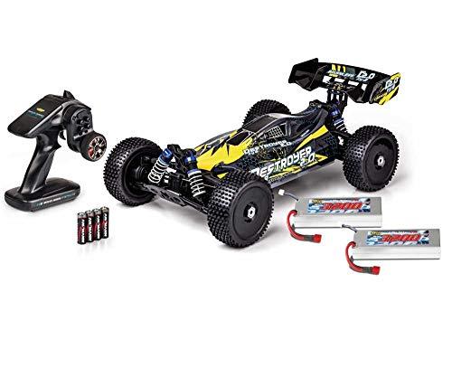 Carson 500409092 500409092-1:8 FY8 Buggy Destroyer 2.0 4S RTR, Ferngesteuertes Auto, RC-Fahrzeug, inkl. Batterien und Fernsteuerung, schwarz