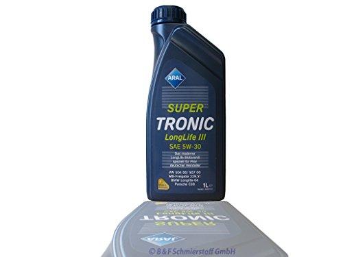 ARAL Super Tronic Longlife III 5W-30 Motoröle, 4 Liter (4X1L)