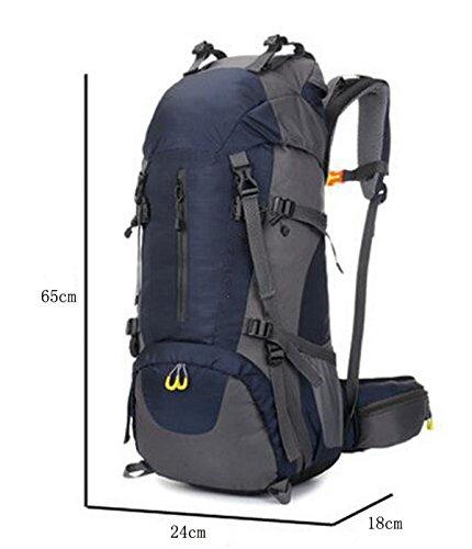 TUOZA Außensportbergsteigen Tasche Camping Rucksack Black