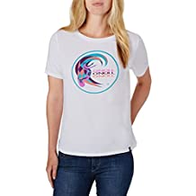 O 'Neill mujeres de Re-Issue logotipo Tees, mujer, Re-Issue Logo, Super White, XL