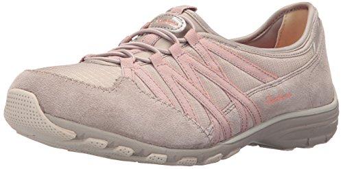 Skechers Damen Conversations Sneaker Taupe/Coral