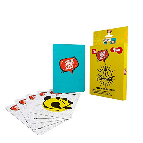 Toiing Simon Says Card Game, Fun Party Game for Kid's Birthday Party or Family Outing