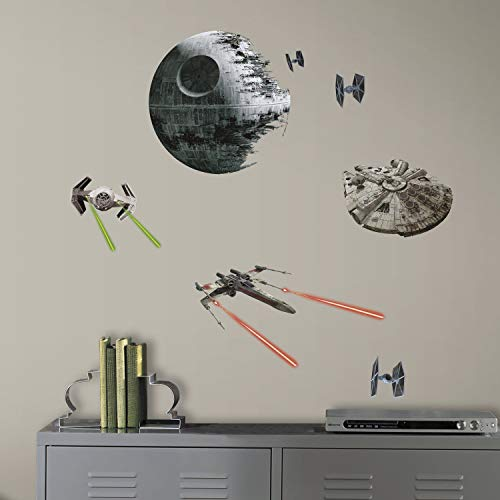 RoomMates Pegatinas Pared Star Wars Naves Clasicas