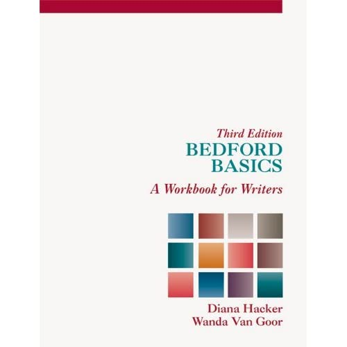 Bedford Basics: A Workbook for Writers by Diana Hacker (2012-08-13)