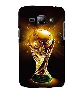 EPICCASE Soccer Cup Mobile Back Case Cover For Samsung Galaxy J1 (Designer Case)