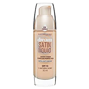 Maybelline Dream Satin Liquid Foundation Natural Ivory 01