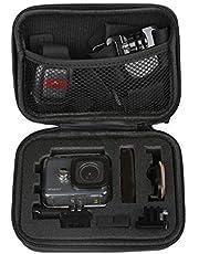 Pes Carrying Case Protective Camera Storage for GoPro Hero 5, GoPro Hero 6, GoPro Hero 7 Black 2018 (Small Size)