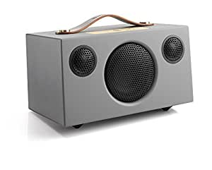 """Audio Pro 14525"""" Add-On C3 Bluetooth Stereo Wireless Speaker with Built-In Subwoofer for Smartphones - Storm Grey"""