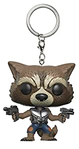 Porte-Clés Pocket Pop ! Keychain - Marvel Les Gardiens de la Galaxie vol.2 - Bobble-Head Rocket