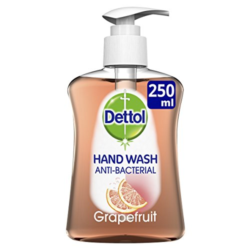 Dettol Liquid Hand Wash Anti-Bacterial Moisture, Grapefruit, 250ml