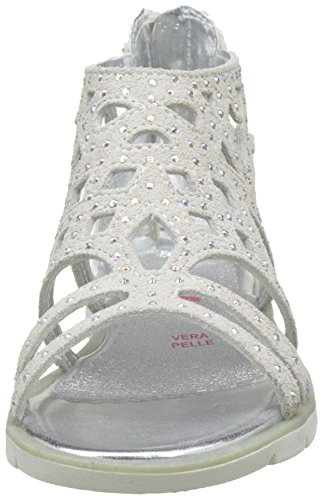 ASSO 47818, Spartiates Fille Blanc (white)