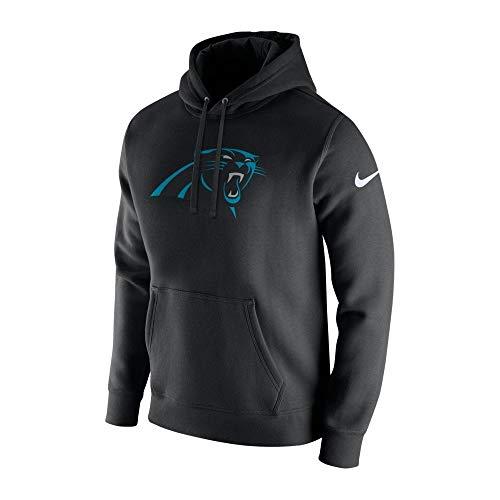 Nike NFL Carolina Panthers Po Fleece Club Hood Medium (Nfl Panthers Hoodie)