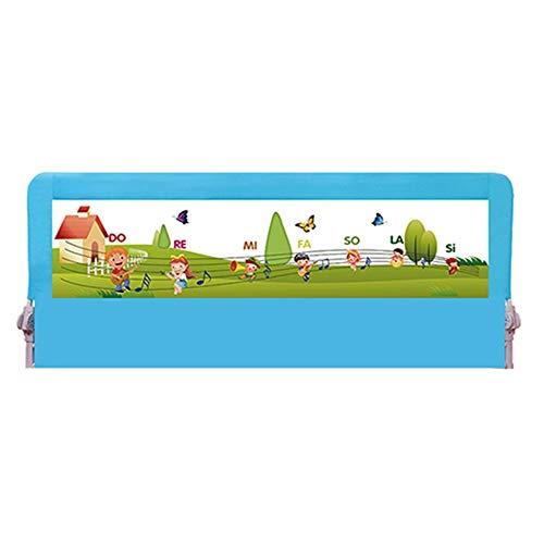 Barandilla Cama Plegable Portátil Protector, Barrera De Seguridad para Niños, Adecuado para La Mayoría De Las Camas, Tamaño 80-200 Cm (Size : 80CM)