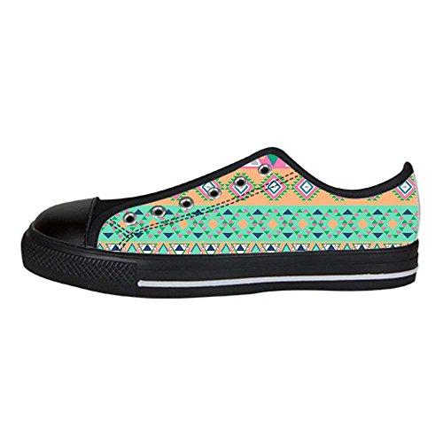 Dalliy das tribal Men's Canvas shoes Schuhe Lace-up High-top Sneakers Segeltuchschuhe Leinwand-Schuh-Turnschuhe C