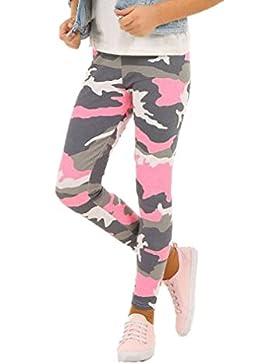 Camouflage Mädchen Leggings Leggins Hose Kinder Frühling 116-158