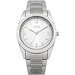 Oasis Damen-Armbanduhr Analog Quarz B1497