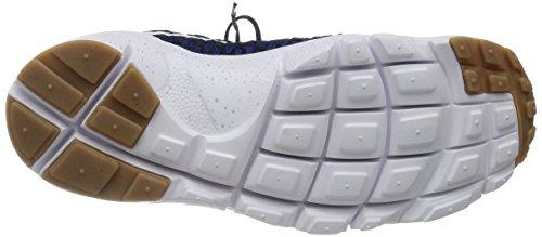 Nike Herren Air Footscape Magista Flyknit Turnschuhe Azul (Azul (Dp Ryl Bl/White-Drk Obsdn-Gm M))