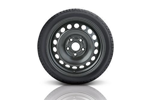 Preisvergleich Produktbild VW WKR 6, 0x16 5 / 112 / 43 Stahl-Basisrad 205 / 60 R16 92H,  rechts - 5Q0073576B03C