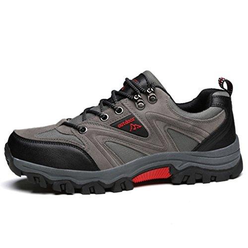 Automne Hiver Outdoor Sports Chaussures Confortable Antidérapant Lacet Chaussures d' Escalade Voyage Randonnée