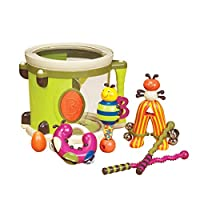 B. toys by Battat BX1007Z Parum PUM Drum, Multi-Colour