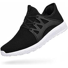 Zapatillas de Deporte para Mujer Zapatos de Senderismo Sneakers Antideslizante Gimnasio Calzado Deportivo