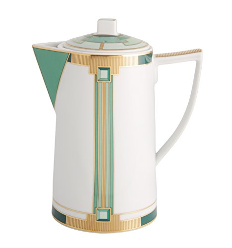 VISTA ALEGRE Portugal - EMERALD (21122001) - Caffettiera di caffe (PORCELLANA) / Porcelain Coffee pot - 1 Lt