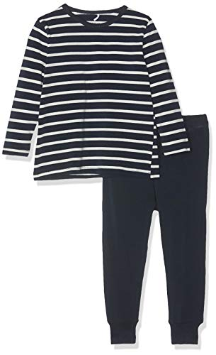 NAME IT Baby-Jungen NMMNIGHTSET YD NOOS Zweiteiliger Schlafanzug, Mehrfarbig (Dark Sapphire Dark Sapphire), (Herstellergröße: 98)