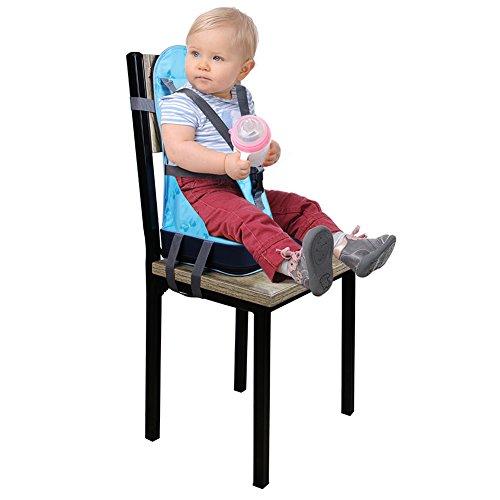 Pliant siège rehausseur Coussin de Chaise haute pour bébé avec ... 06b54362cdd