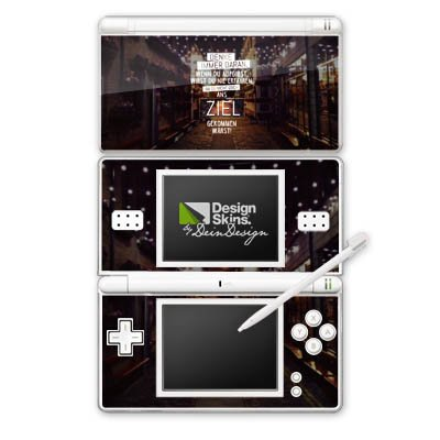 nintendo-ds-lite-case-skin-sticker-aus-vinyl-folie-aufkleber-workout-spruche-motivation