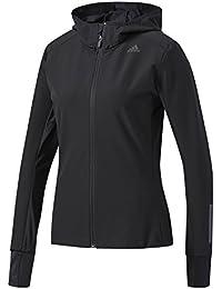 Adidas RS SFT SH JKT W Chaqueta, Mujer, (Negro), XL