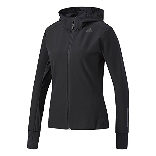 adidas Damen Response Soft Shell Jacke, Black, L (Adidas-shell)