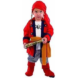 Disfraz para bebé de bucanero, varias tallas.