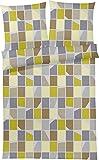 Bruno Banani Mako Satin Bettwäsche Lux lime 155x220 cm + 80x80 cm
