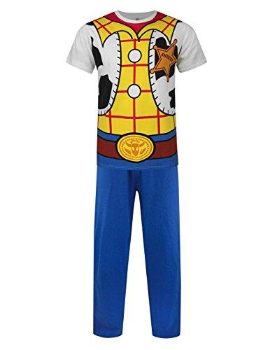 Herren - Disney - Toy Story - Schlafanzug (M) (Woody Kostüme Männer)