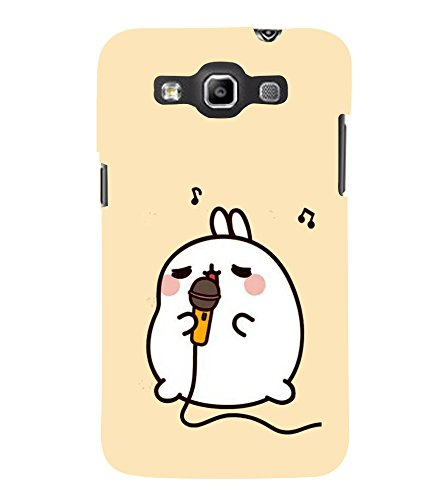 Fuson Designer Back Case Cover for Samsung Galaxy Win I8550 :: Samsung Galaxy Grand Quattro :: Samsung Galaxy Win Duos I8552 (Mike Rabbit Singing karaoke Music)  available at amazon for Rs.347