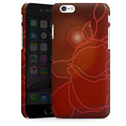 Apple iPhone X Silikon Hülle Case Schutzhülle Licht Blume Rose Premium Case matt