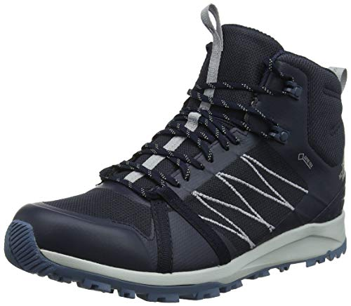 7b1885ad0e THE NORTH FACE Men's M Litewave Fastpack II Mid GTX Hiking Boots, Blue  (Urban