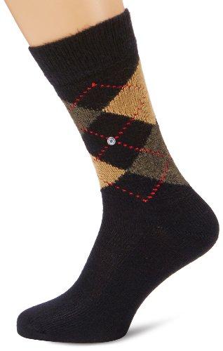Burlington Herren Socken Preston Schwarz (black-sahara 3014)