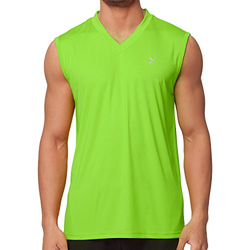 CFLEX Men Sportswear Collection - Muscle-Shirt Electric Green XL