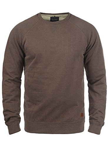 BLEND Alex 20701680ME Sweatshirt, Größe:L;Farbe:Mocca Mix (70816)