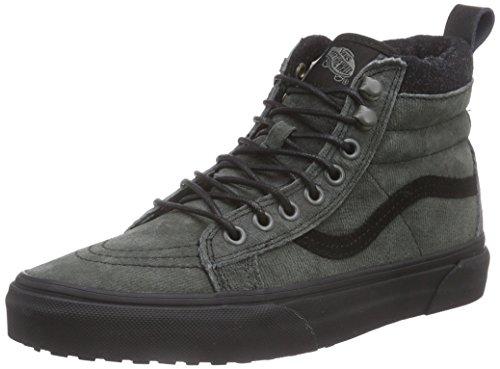 Vans Sk8-hi Mte, Unisex-Erwachsene Hohe Sneakers Grau (mte/denim/black)