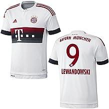 FC BAYERN MÜNCHEN AWAY TRIKOT 2015/16 - LEWANDOWSKI, KINDER